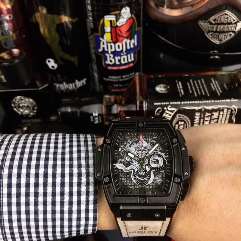 the latest d10e0 09764 ウブロ(HUBLOT)メンズ クォーツ(日本製) スーパーコピー 腕時計 HU-TSH380-029